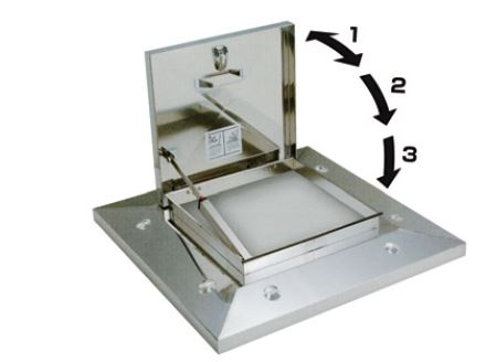 convenient and High quality hatch door for roof made in Japan