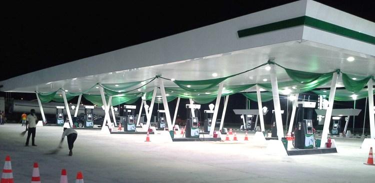 50w Petrol Station Led Light Super Bright Gas Station Canopy ...