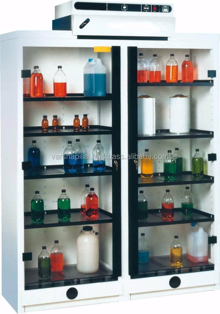Laboratory Vented Chemical Storage Cabinet - Buy Lab Vented ...