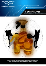 Nano Silver Disinfecting Sanitizer Spray for Veterinary Applications