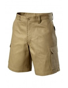 HIVIS Drill Cotton Shorts - Safety Workwear