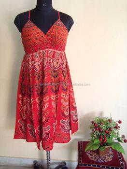 198bb8ad1c Indian Mandala dresses Hippie Boho Dress Plus Size Vintage Cotton Dress  Gypsy Amazing Ethnic Gauze Hippie