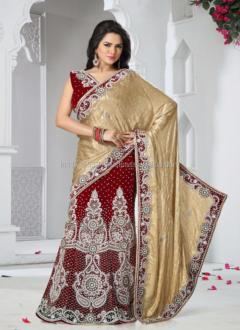 ba888e334e Indian lehenga saree - Awesome lehenga saree for bridal - Indian saree low  prices - Bulk