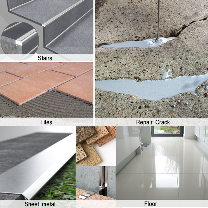 Epoxy Hybrid Resin Best Fix Repair Marble Cement And Tiles Adhesive Product On Alibaba