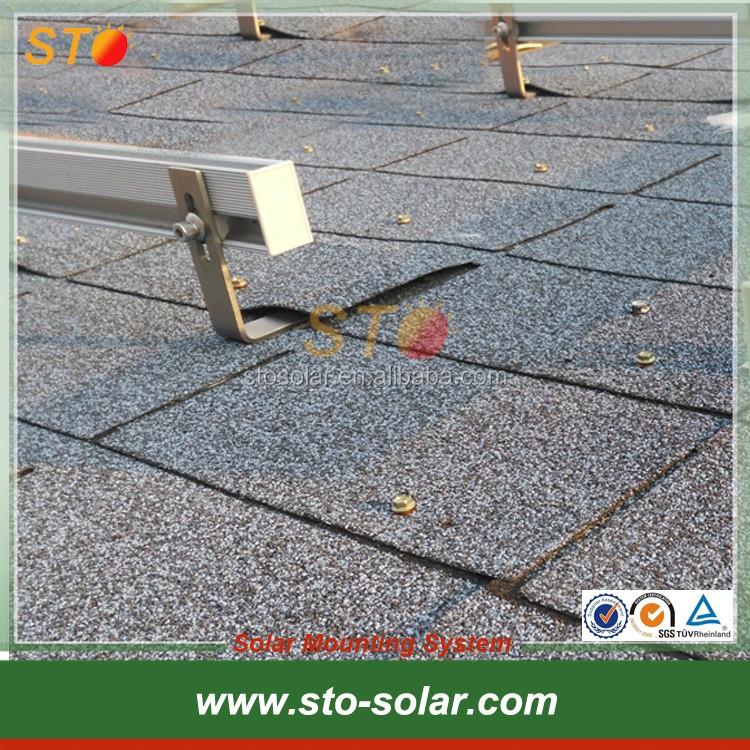High quality Solar Asphalt roof hook for Asphalt roof mounting