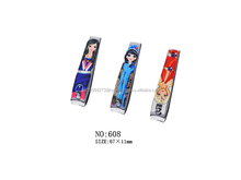 Cute cartoon mädchen designs nail cutter/big nagelknipser/nipper