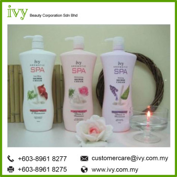 Ivy Aromatic Spa Body Shampoo Provate Label Shower Gel Made from Malaysia