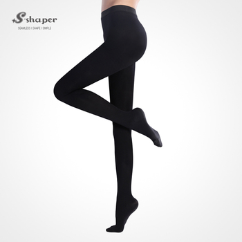 f063818cb1 S-SHAPER Warm Compression Tights Withfoot Medical Stocking Slimming Varicose  Veins Pressure Pantyhose
