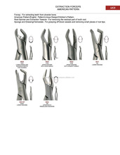 Oral Dental extracting Forceps/ tooth extracting forceps IS TEF 030