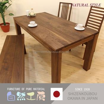De Haute Qualite Et A La Mode Court Jambe Table A Manger Avec Divers Types De Bois Fabriques Au Japon Buy Court Jambe Table A Manger Product On