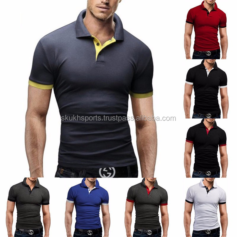 4ec7a37d LOGO customized slim fit no button polo shirt,wholesale men's running tops,  best quality dri fit polo shirt