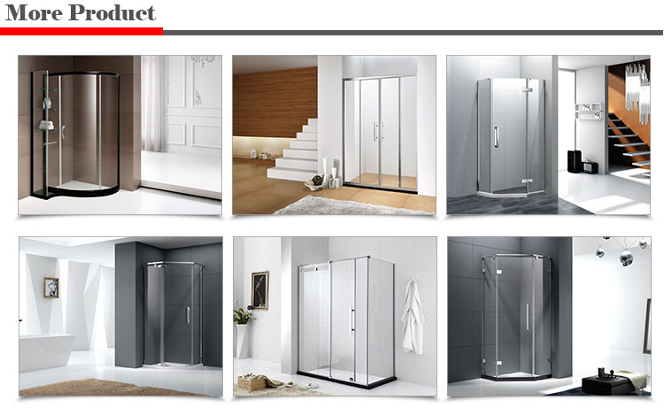 size of bathroom shower door frame only