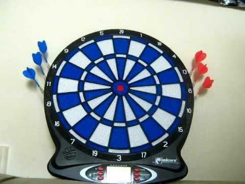 Unicorn Electronic Dart Board Review!