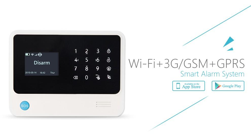 G90b Plus Wireless Wifi Gsm Gprs Sms Home Alarm System Smart Home With G B Burglar Alarm Wiring Diagram on
