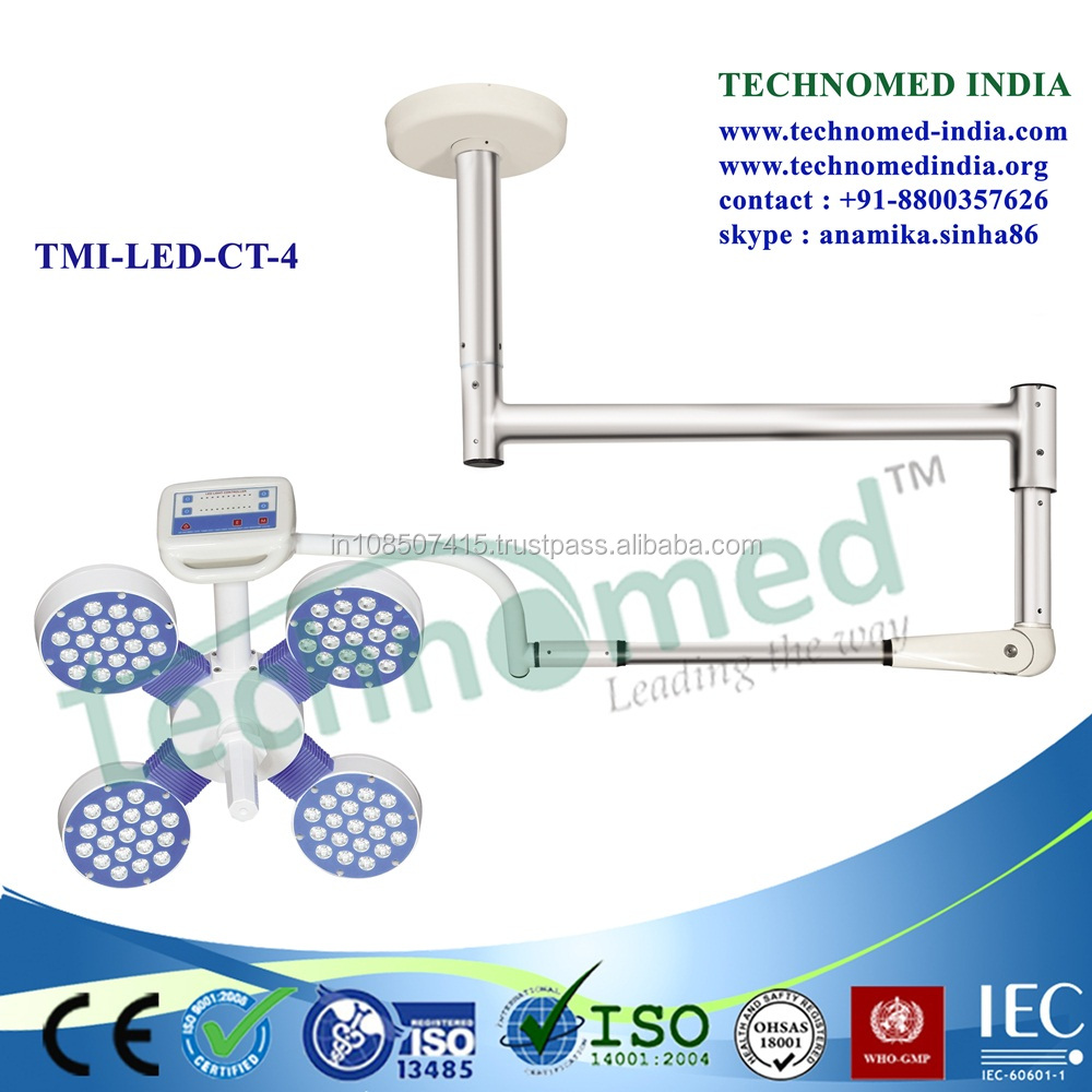 TMI-LED-CT-4 Mobile operating room led ceiling mount light x
