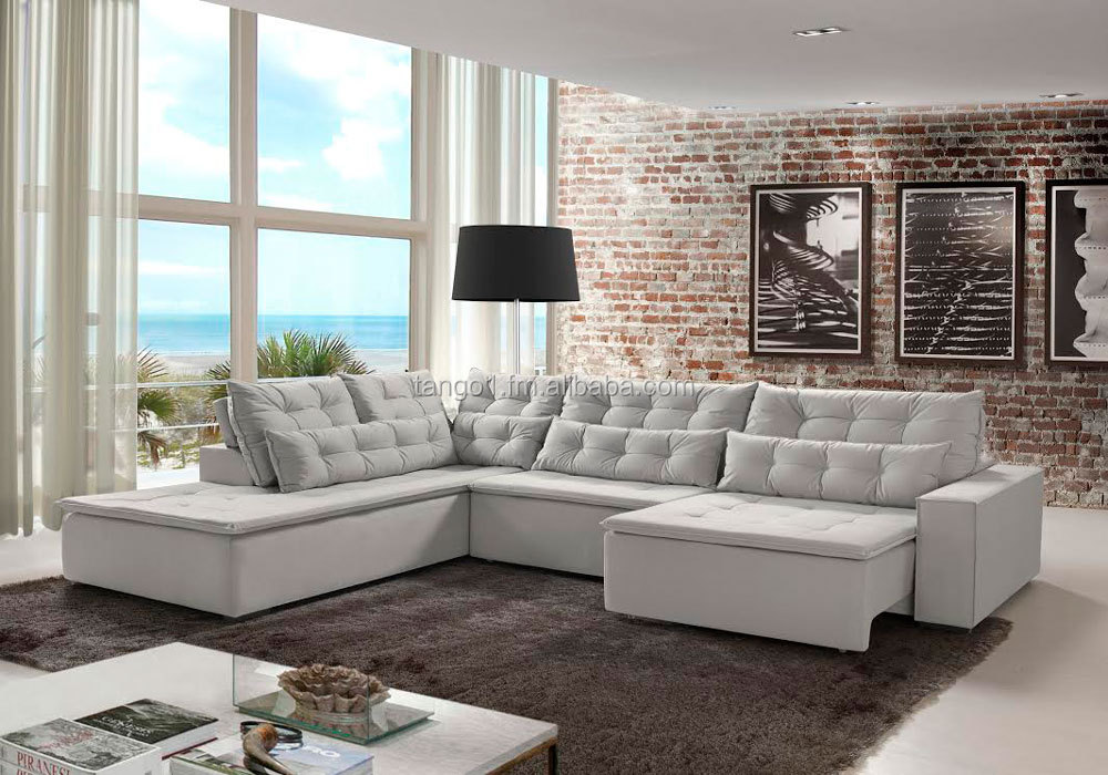 Modern Fabric Sofa For Living Room Brazilian Furniture Brazil Manufacturer Retractable