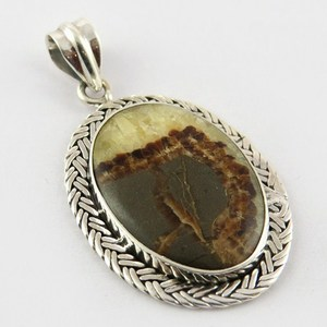 Free Size !! Jasper 925 Sterling Silver Pendant, Natural Turquoise Silver Jewelry, Wholesale Rings
