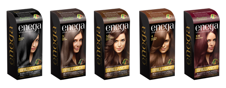 Enega Brilliance Creme Hair Color - Buy Creme Hair Color Product on ...