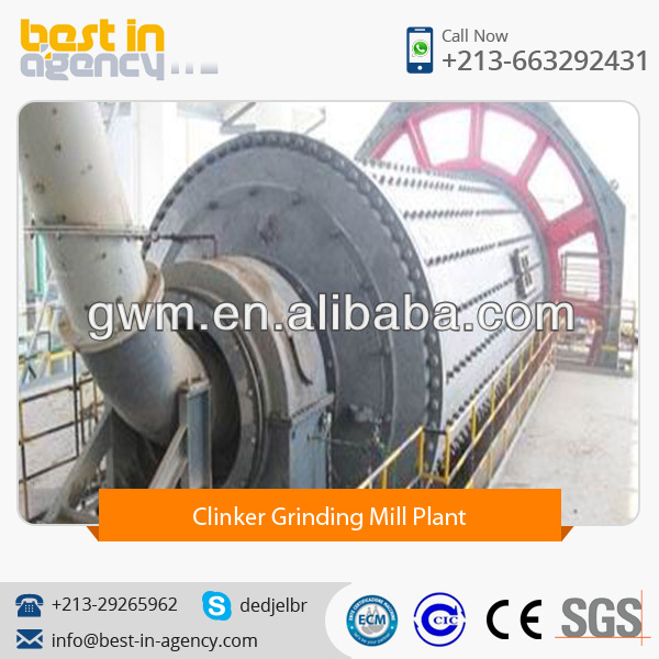 Widely Selling, High Capacity Clinker Grinding Mill Plant