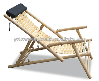 [wholesale] Bamboo Beach Lounge Chair. Bamboo Folding Chair / Relax Chair.  Bamboo