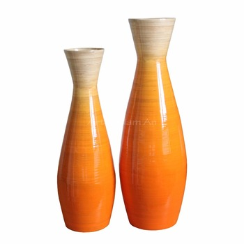 Spun Bamboo Floor Vasedecorative Tall Vase Buy Bamboo Floor Vases
