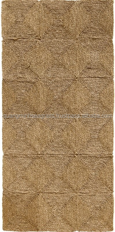 Traditional, Eco-friendly, natural straw carpet, seagrass floor carpet, cheap price, made in Vietnam