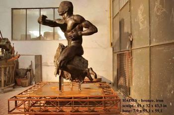 有名なブロンズ彫刻「 ハデス」、 イタリアの偉大な彫刻家 - Buy の ...