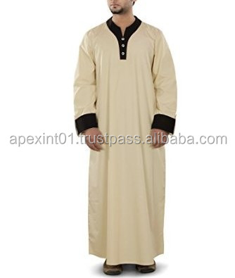 Arab Style Thobe For Man Islamic Clothes For Men Dresses Wholesale ...