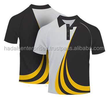 Sublimation polo shirts for Men,s and Women,s