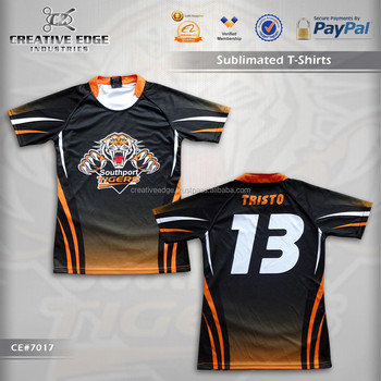 4c79cea2d4d Sports Apparel Sublimation T-Shirt   Newest Style Customize All Over  Sublimation T Shirt