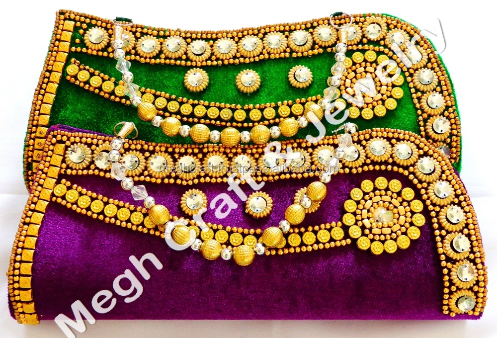 e86de26a323 Online Buy Gift For Her-wholesale Designs Clutch Velvet Purse-designer  Handmade Beaded Clutch Purse-bollywood Fashion Hand Purse - Buy Ethnic  Clutch ...