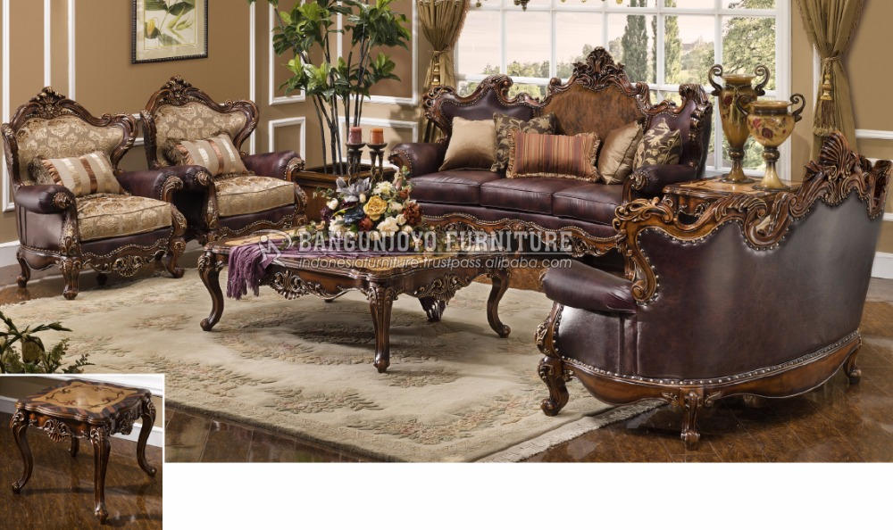 Traditional Style Sofa Living Room Set