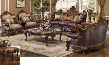 Luxury Traditional Style Sofa Living Room Set - Buy Fancy Sofa  Furniture,Wooden Sofa Set Furniture,New Model Furniture Living Room Product  on ...
