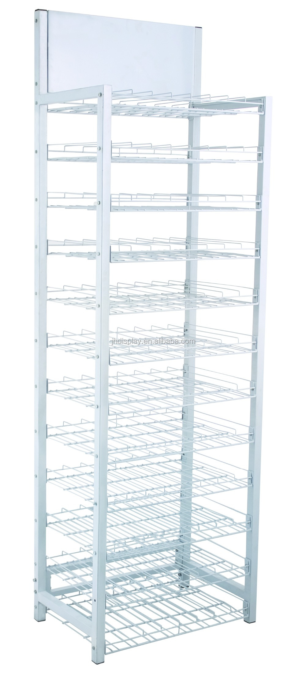 Photo Wire Display hot sale! supermartk metal wire rack / food pop iron wire display