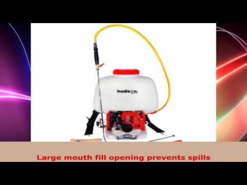Hudson 18537 65 Gallon 1 HP 2 Stroke Gas Powered Professional BakPak Power Sprayer