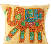 Handmade Cushion for Rattan Chair Fashion Design handmade embroidery cushion cover with great price