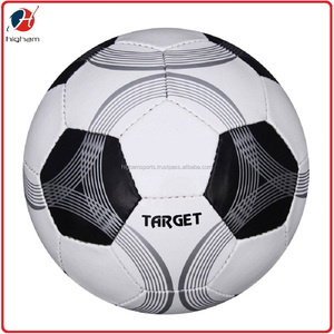 TARGET Wholesale Customize Cheap Promotion PU Hand Stitched Soccer Balls, Official Size #5