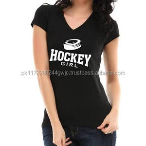 OEM Customized Wholesale cheap v neck short sleeve printing women t shirts
