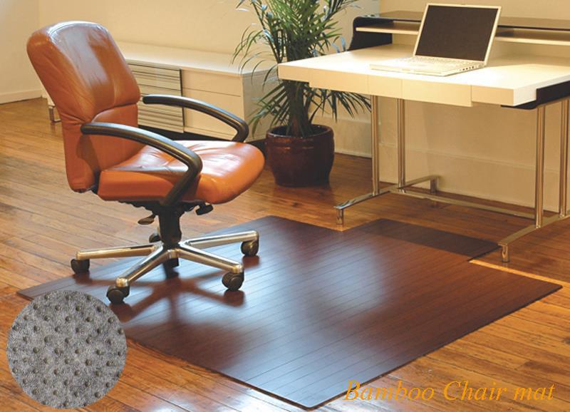 Clear Office Decorative Vinyl Floor Mats Carpet Protector Runner Chair Mat For Hardwood Floors