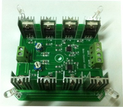 Dual axis Solar tracker board