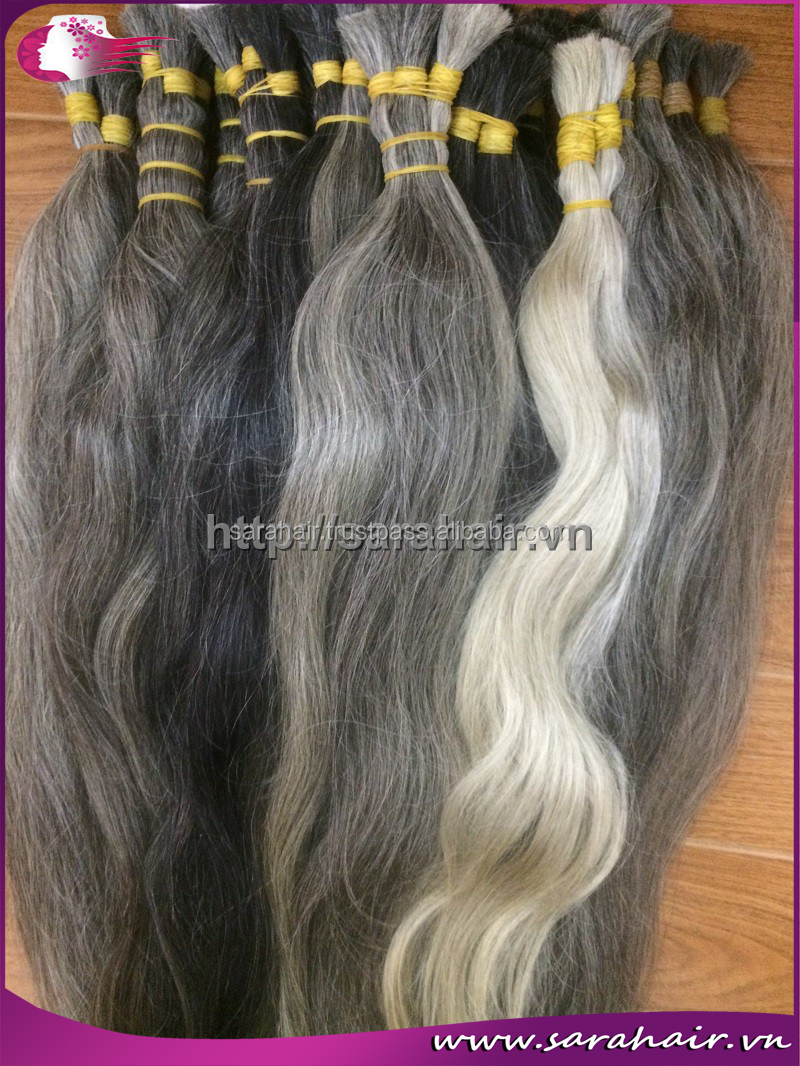 Vietnamese hair light grey silver color human hair extension buy vietnamese hair light grey silver color human hair extension pmusecretfo Image collections