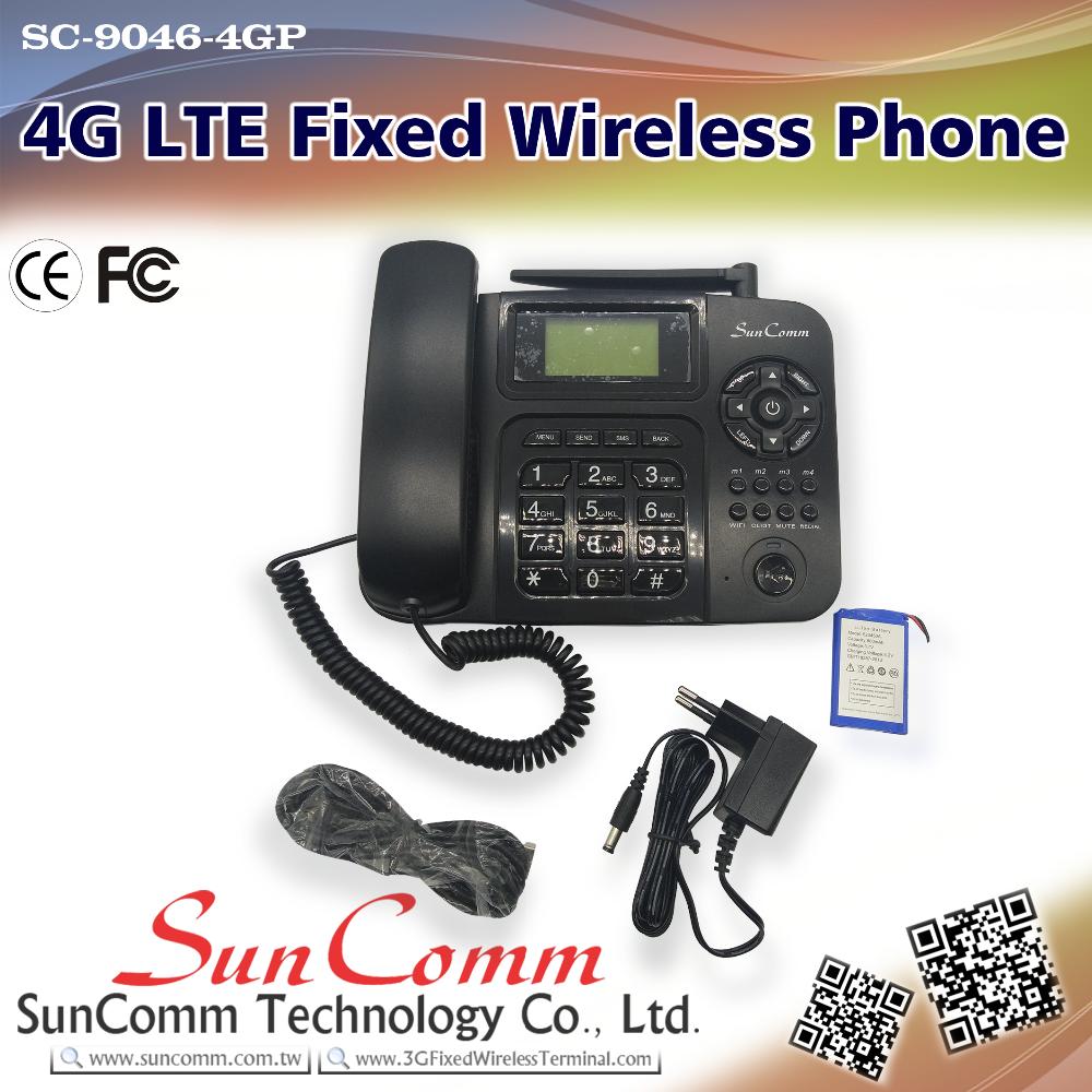 Sc-9046-4gp Lcd Backlight 4g Lte Wifi Sip Desk Phone