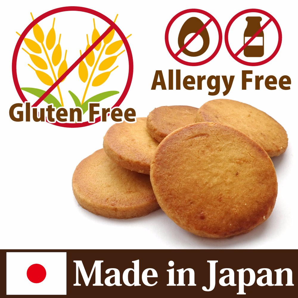 Long-lasting and Delicious gluten free products Cookie made in Japan