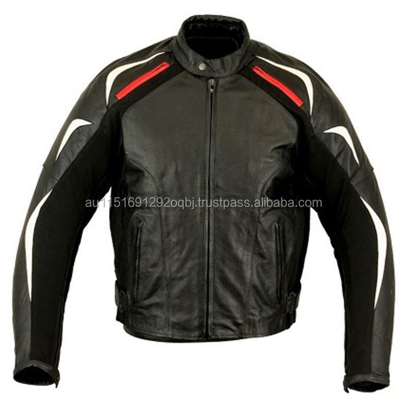 MEN BIKER LEATHER JACKETS FOR MOTORCYCLE SAFETY