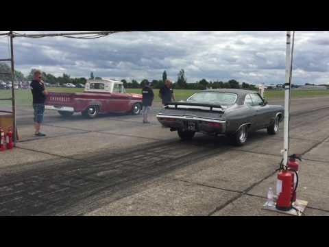 455 Buick GS - a bit of fun at North Weald 30.07.16