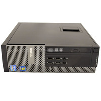 990 SFF Desktop Quad i7 3.40GHz 4GB DDR3 1TB HD DVDRW Win 7 Pro