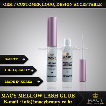 Korea Macy Beauty Mellow Lash Glue Pk Cap Eyelashes Glue
