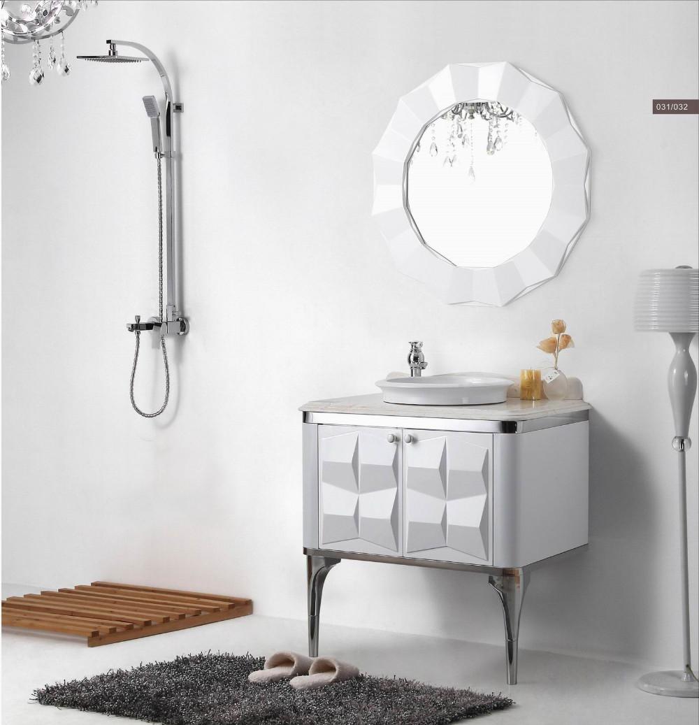 Vanity Fair Bathroom Furniture Of Antique Luxury White Oak Plywood Bath  Cabinet