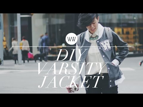 How to Make a Varsity Jacket Letterman Jacket)