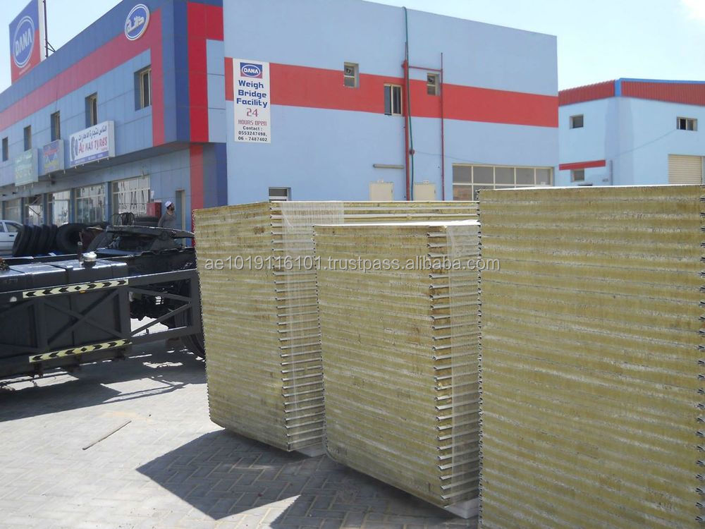 Dcp 35-200 Corrugated Roof Sandwich Panel Supplier-manufacturer - Dana  Steel Uae-qatar-oman-bahrain - Buy Corrugated Puf Sandwich Panel Uae,Puf  Panels